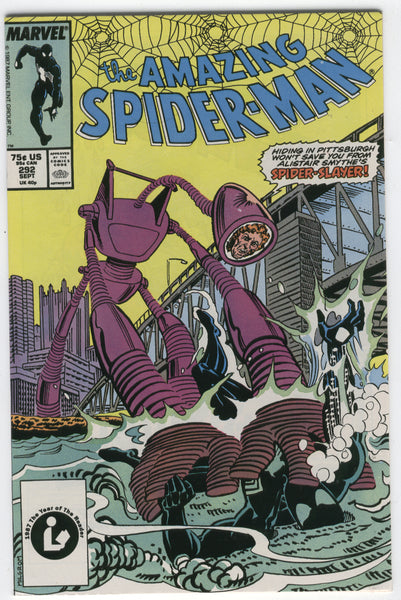 Amazing Spider-Man #292 Hiding In Pittsburgh? VFNM