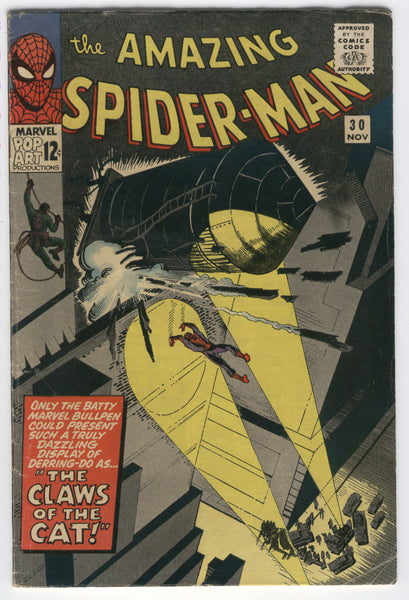 Amazing Spider-Man #30 The Claws Of The Cat Silver Age Ditko Key VG