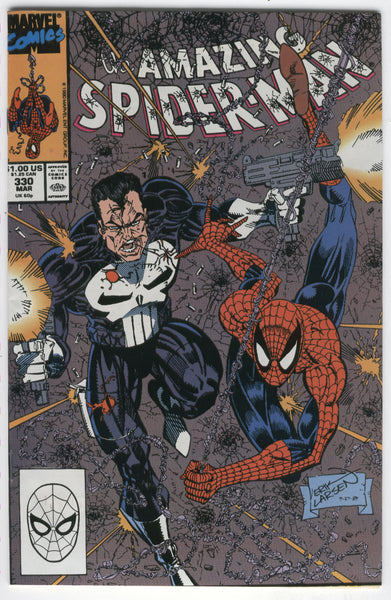 Amazing Spider-Man #330 The Punisher NM-