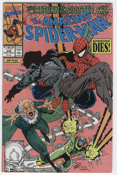 Amazing Spider-Man #336 The Sinister Six VF