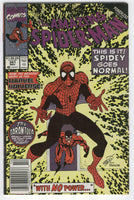 Amazing Spider-Man #341 Spidey Goes Normal News Stand Variant VG