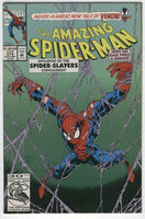 Amazing Spider-Man #373 Spider-Slayers and Venom!  VF