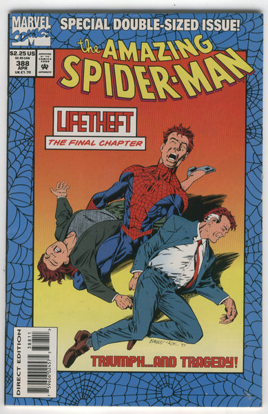 Amazing Spider-Man #388 LifeTheft Standard Cover VF