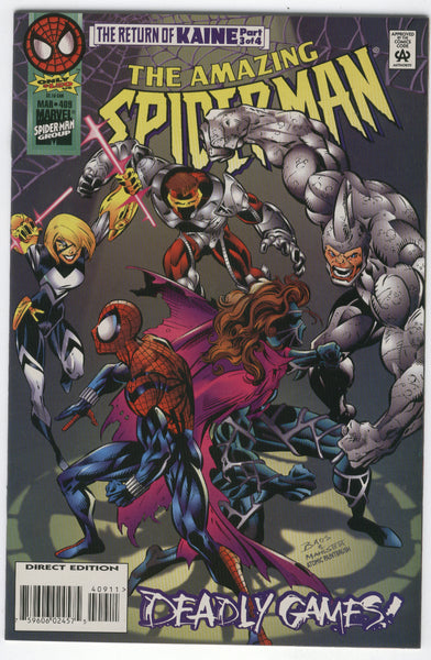Amazing Spider-Man #409 Deadly Games VFNM