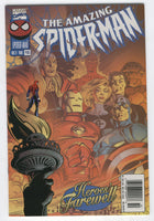 Amazing Spider-Man #416 Heroes Farewell News Stand Variant VF