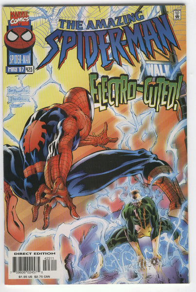 Amazing Spider-Man #423 Electro-Cuted VFNM