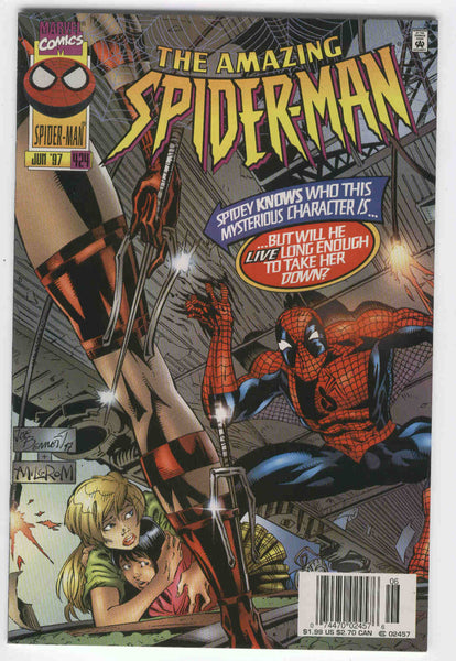 Amazing Spider-Man #424 Then Came... Elektra News Stand Variant NM-