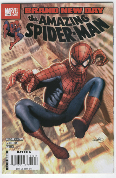 Amazing Spider-Man #549 Brand New Day VF