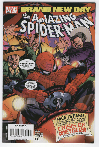 Amazing Spider-Man #563 Brand New Day VF