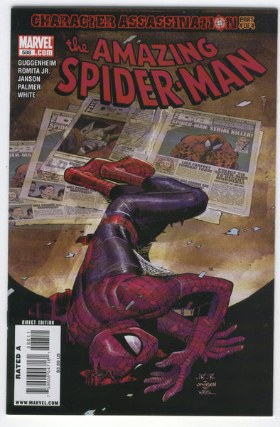 Amazing Spider-Man #588 Character Assassination VF