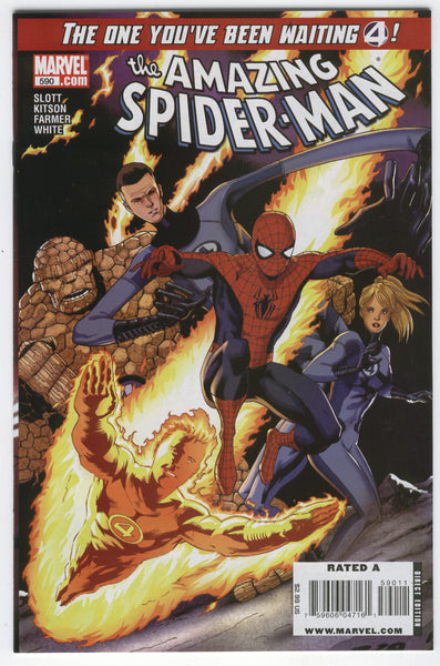 Amazing Spidere-Man #590 The One You've Been Waiting 4 VFNM