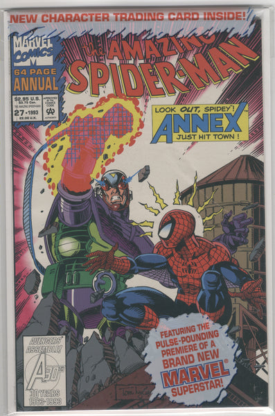 Amazing Spider-Man Annual #27 A Brand New Superstar! Sealed in Bag VFNM