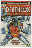 Astonishing Tales #26 2nd Appearance of Deathlok The Demolisher Buckler Bronze Age Key FVF