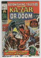 Astonishing Tales #8 All New Stories Ka-Zar Doctor Doom VG-