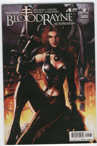 Bloodrayne Automaton #1 One Shot Mature Readers VF