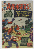 Avengers #15 In Mortal Battle Silver Age Key VG-