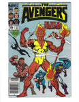 Avengers #258 The Fury Of Firelord! News Stand Variant FVF