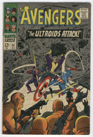 Avengers #36 The Ultroids Attack Early Black Widow Silver Age Classic VG