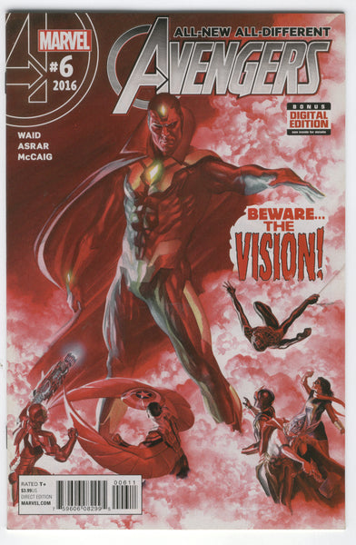 All-New, All-Different Avengers #6 Beware The Vision NM-