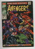 Avengers Annual #2 New Vs Old Team Silver Age classic VG