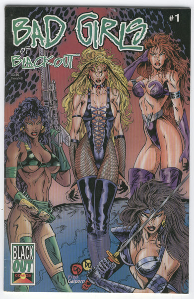 Bad Girls of Blackout #1 Mature Readers VF