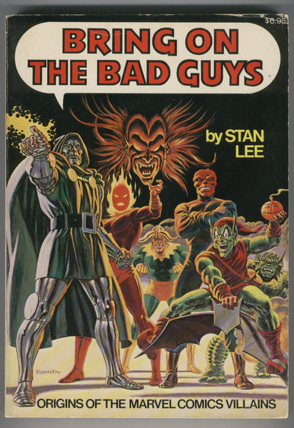 Bring on the Bad Guys by Stan Lee Fireside 1st Print FN