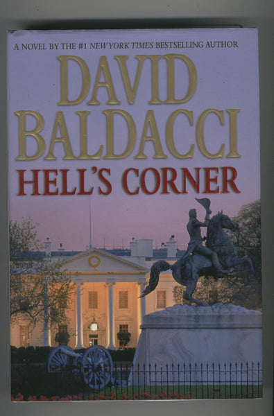 David Baldacci Hell's Corner Hardcover w/ Dust Jacket First Printing
