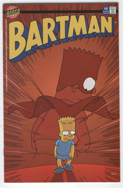 Bartman #4 The Simpsons Spider-Man Homage NM-