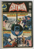 Batman #233 DC Giant G-85 The Crime Of Bruce Wayne Bronze Age Key VG-
