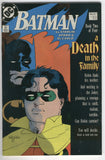 Batman #427 A Death In The Family Book Two FN