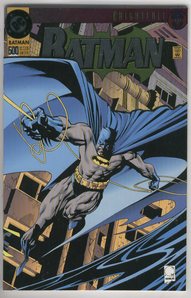 Batman #500 Special Embossed cover VFNM
