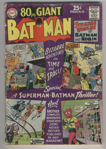 80 Page Giant #12 Batman GD