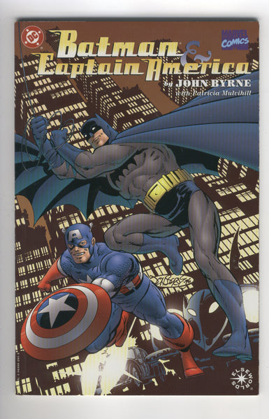 Batman & Captain America Elseworlds Graphic Novel John Byrne VF