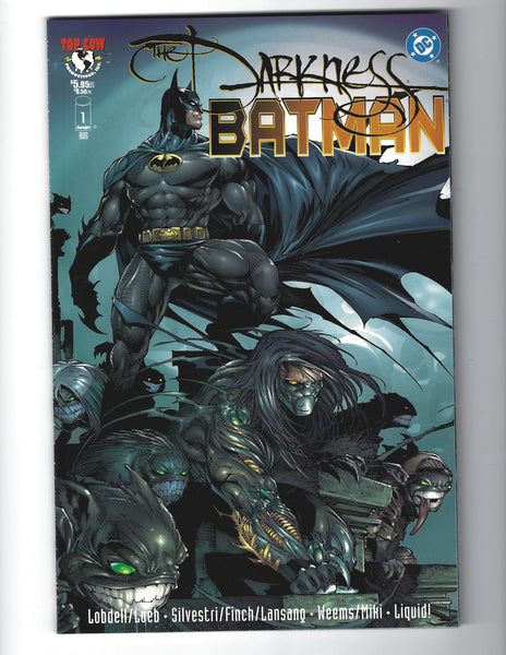 The Darkness / Batman Graphic Novel One Shot Crossover VFNM
