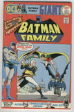 Batman Family #1 Bat-Girl Robin Man-Bat + Bronze Age High Grade VF