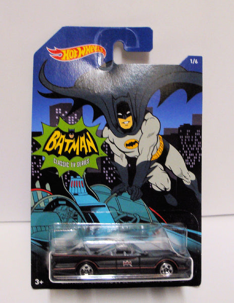 "2014 Hot Wheels Batman ""Classic Series Batmobile"" Vehicle 1/6 1:64"