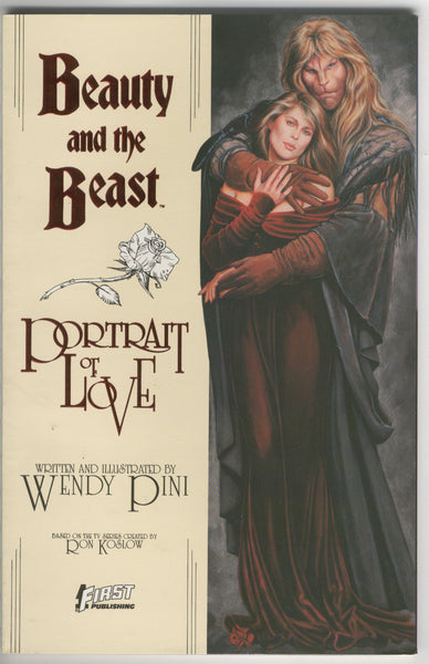 Beauty And the Beast Portrait Of Love First Publishing HTF Indy VFNM