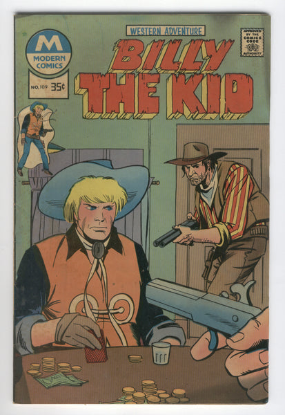 Billy The Kid #109 Bronze Age Modern Comics Variant VGFN
