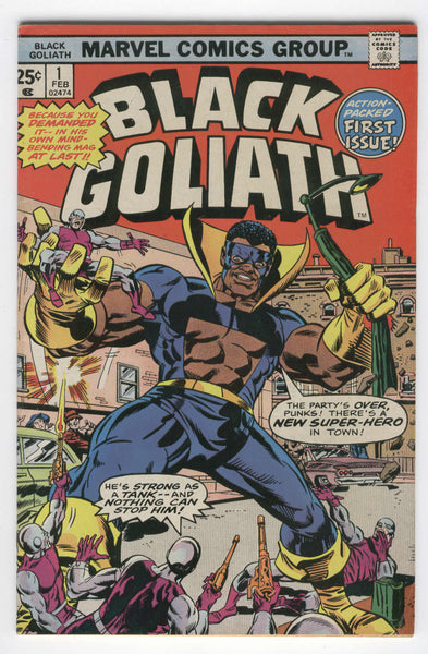 Black Goliath #1 5.0 Action Packed First Issue 1976 VGFN