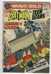 Brave And The Bold #102 Batman Crushes The Teen Titans! Neal Adams Art! Bronze Age FN