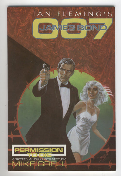 Ian Fleming's James Bond Permission To Die #2 Grell Art VF