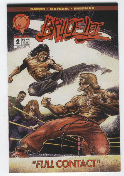 Bruce Lee #2 Full Contact HTF Malibu series NM