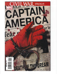 Captain America #25 The Death Of The Dream! VFNM