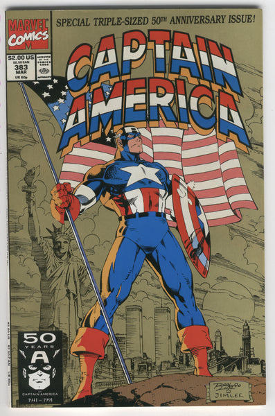 Captain America #383 50th Anniversary Issue NM