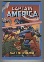 Captain America War&Rememberance Trade Paperback Burn Art Frist Print VF