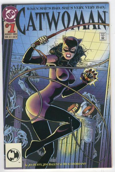 Catwoman #1 She's Very, Very Bad Balent Art VFNM