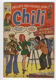 Chili #6 Millie's Red Headed Rival Silver Age Classic Fine