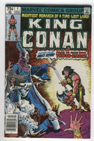 King Conan #1 FVF Fastasy-Filled First Issue Buscema Art News Stand Variant