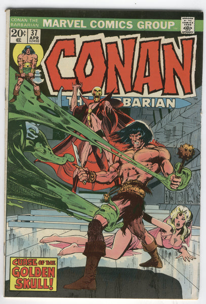 Conan The Barbarian #37 Curse Of The Golden Skull Bronze Age Neal Adams Art VGFN