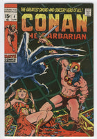 Conan The Barbarian #4 The Tower Of The Elephant Barry Smith Key VG